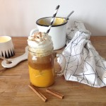 soon on mrspolkadotcom  pumpkin spice latte homemade pumpkinspicelatte starbuckshellip