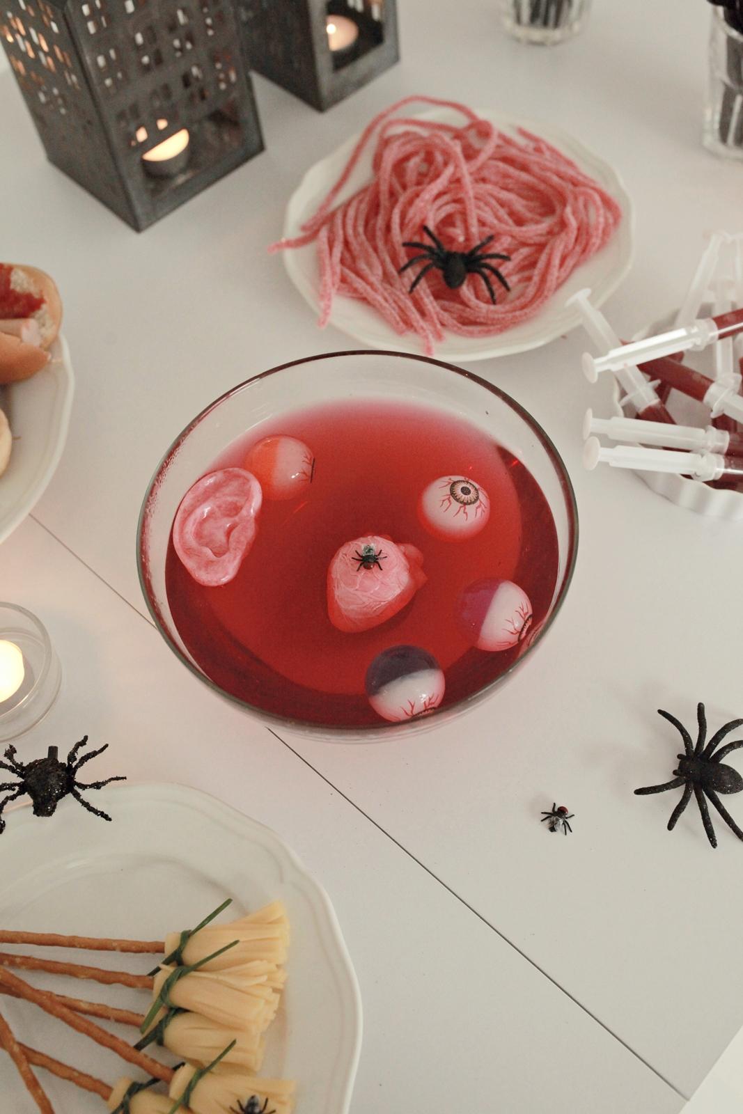 straszne jedzenie halloween