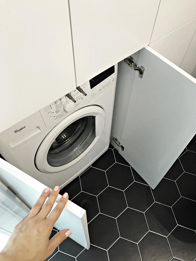 zabudowana pralka