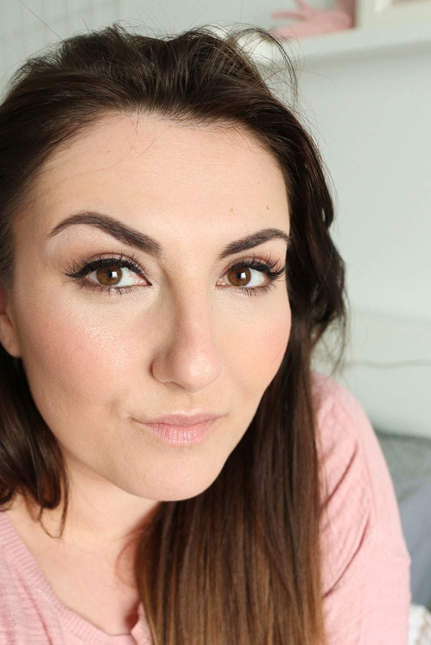 naturalny makijaż dzienny