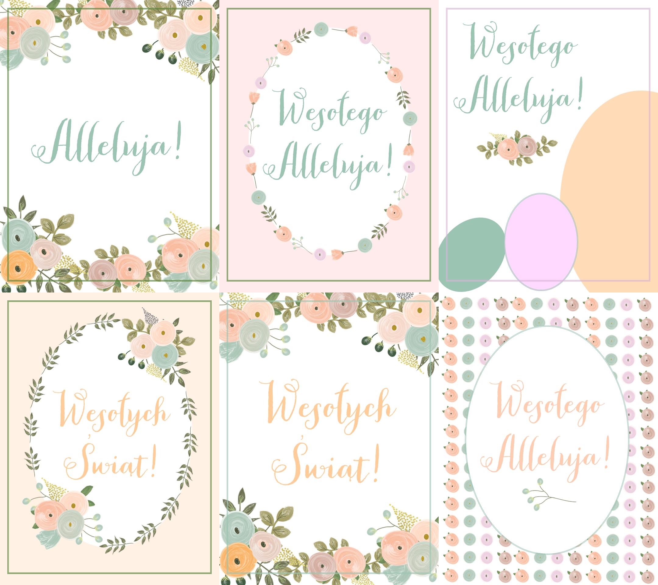 Wielkanocne Plakaty Do Druku Mrspolkadot