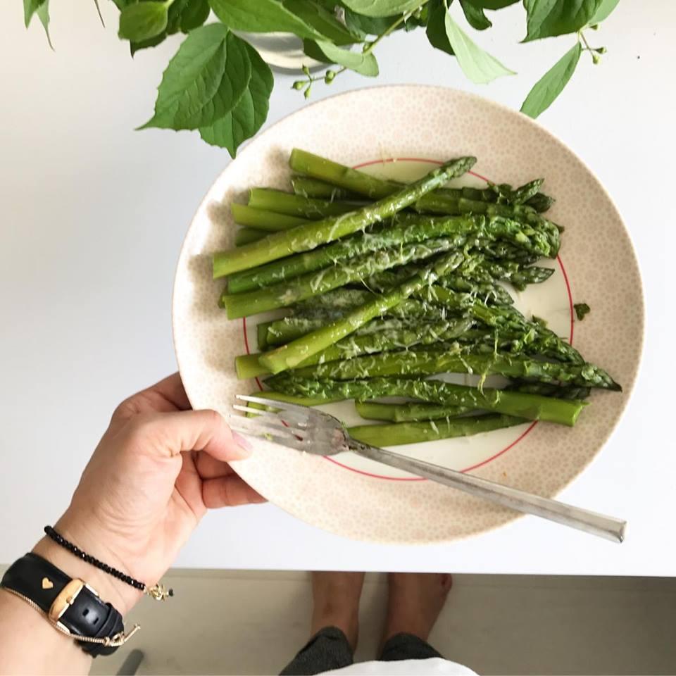 szparagi jak gotować