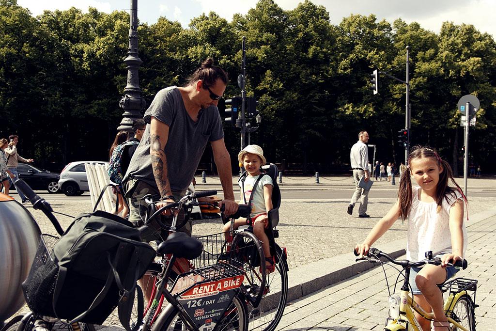 Berlin na rowerach