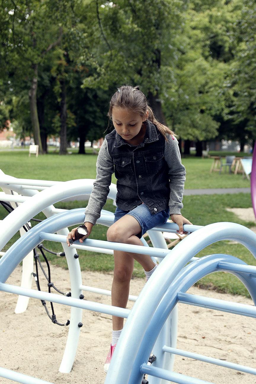 Poznań park przy browarze