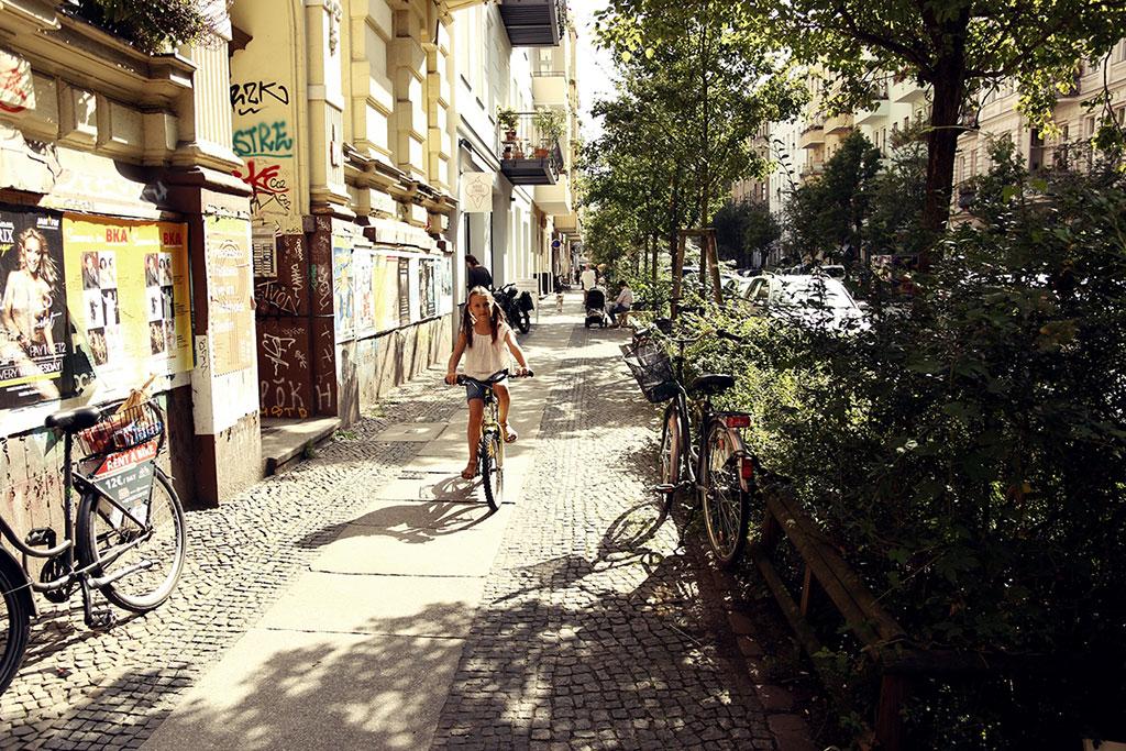Berlin na rowerze