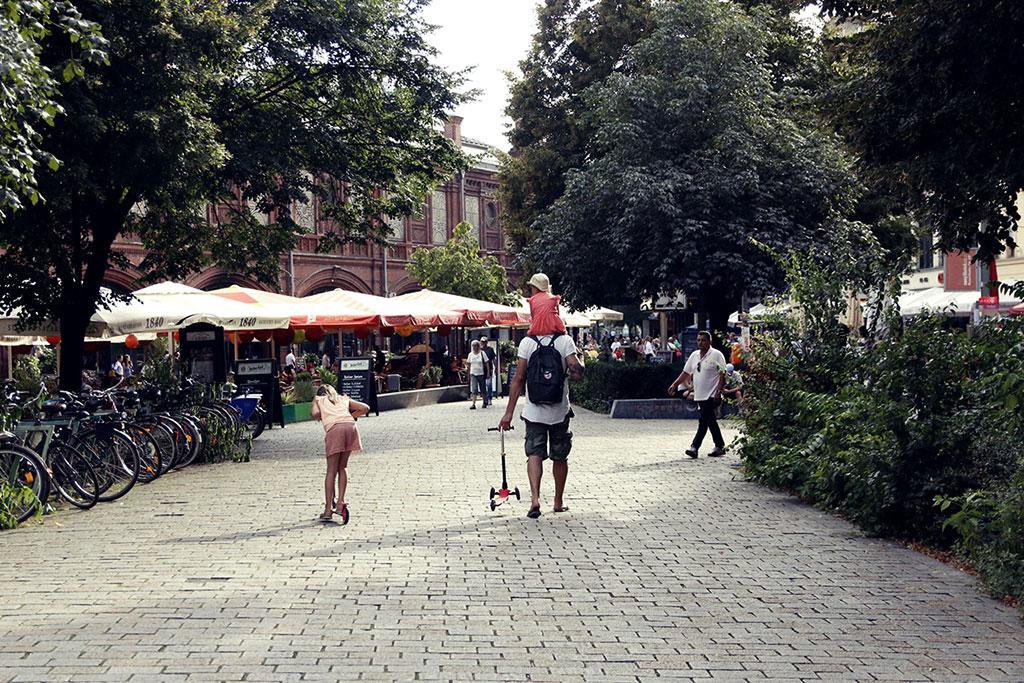 Berlin Heckescher Markt