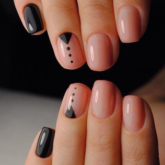 graficzne paznokcie