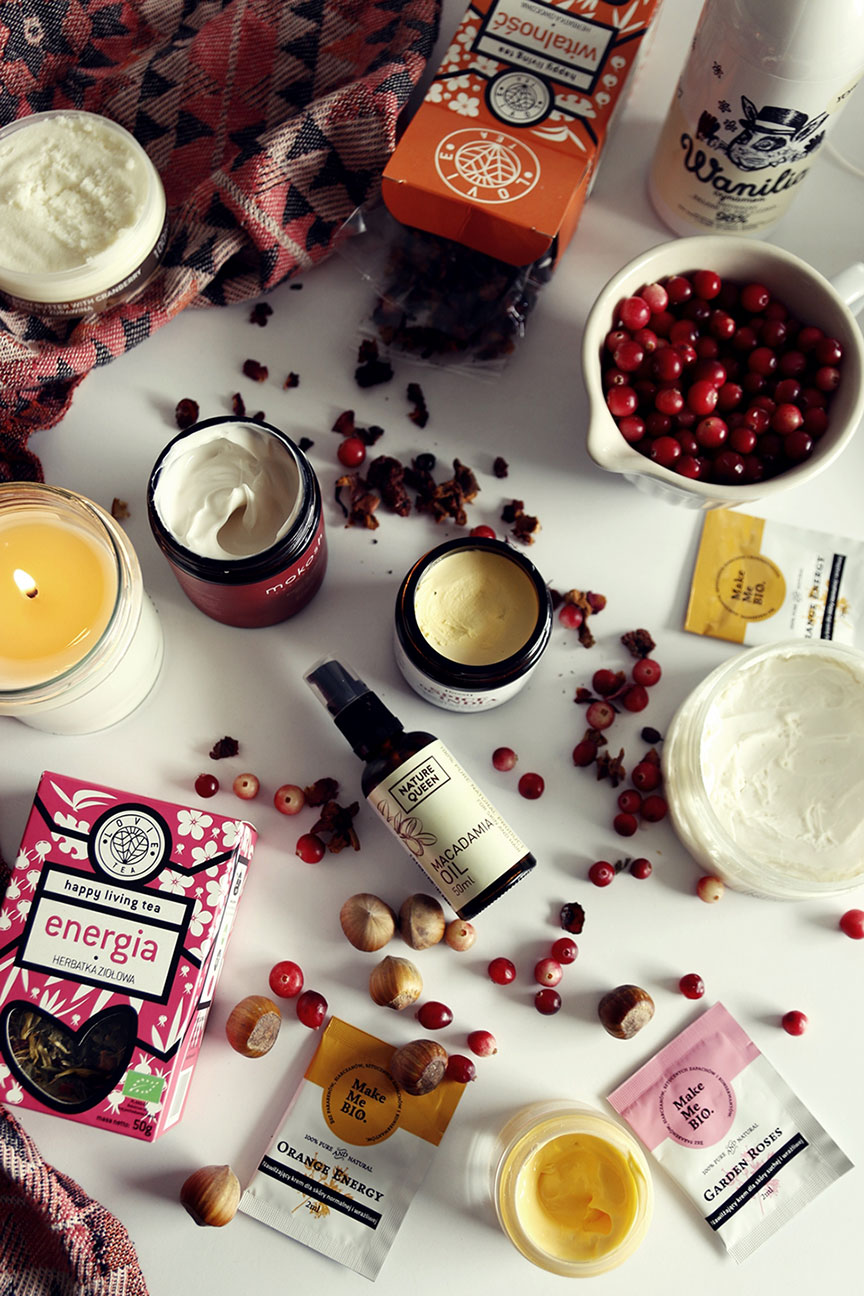 kosmetyki naturalne na jesień