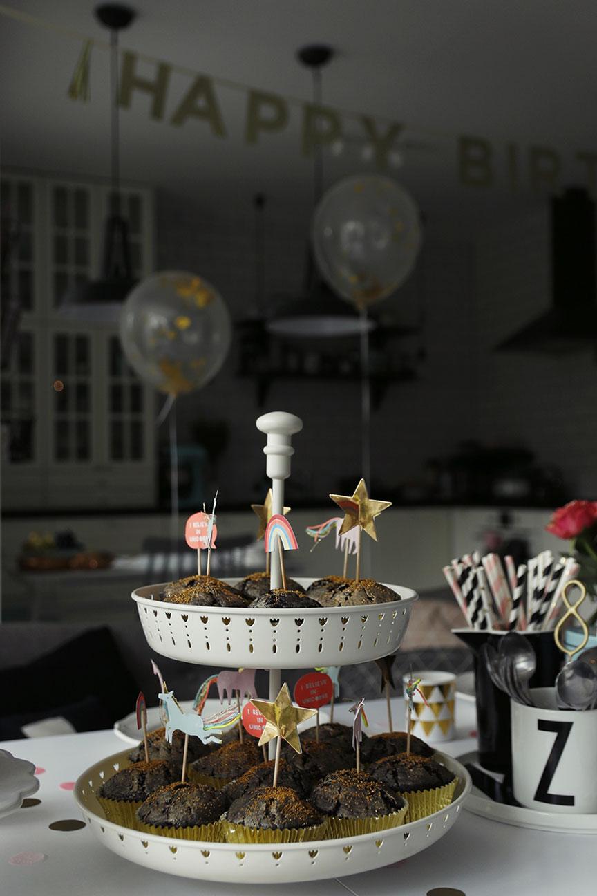 dekoracje do babeczek