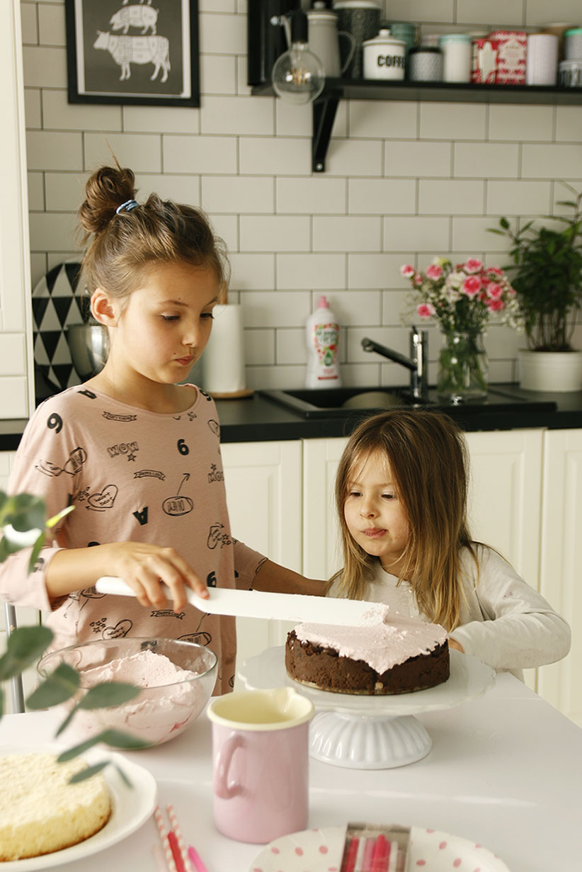 puszysty krem do tortu