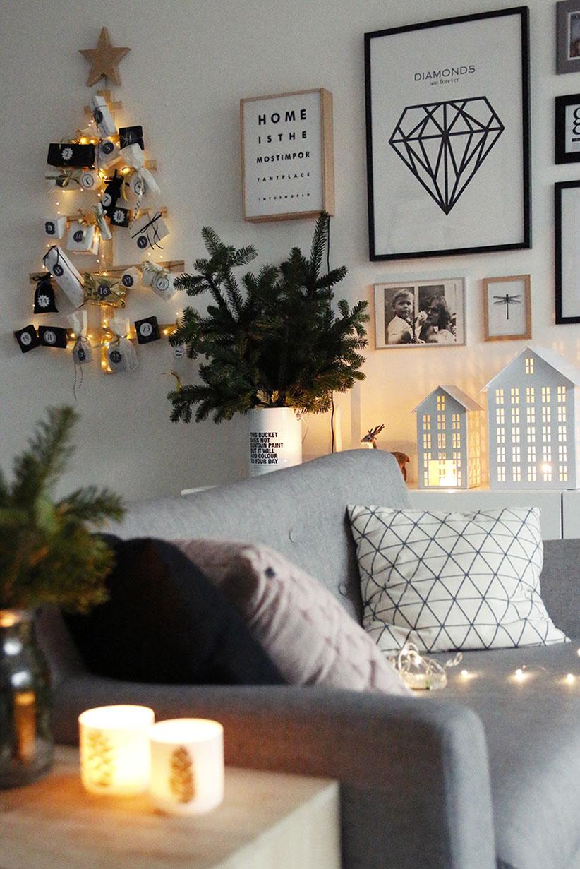 białe dekoracje świąteczne