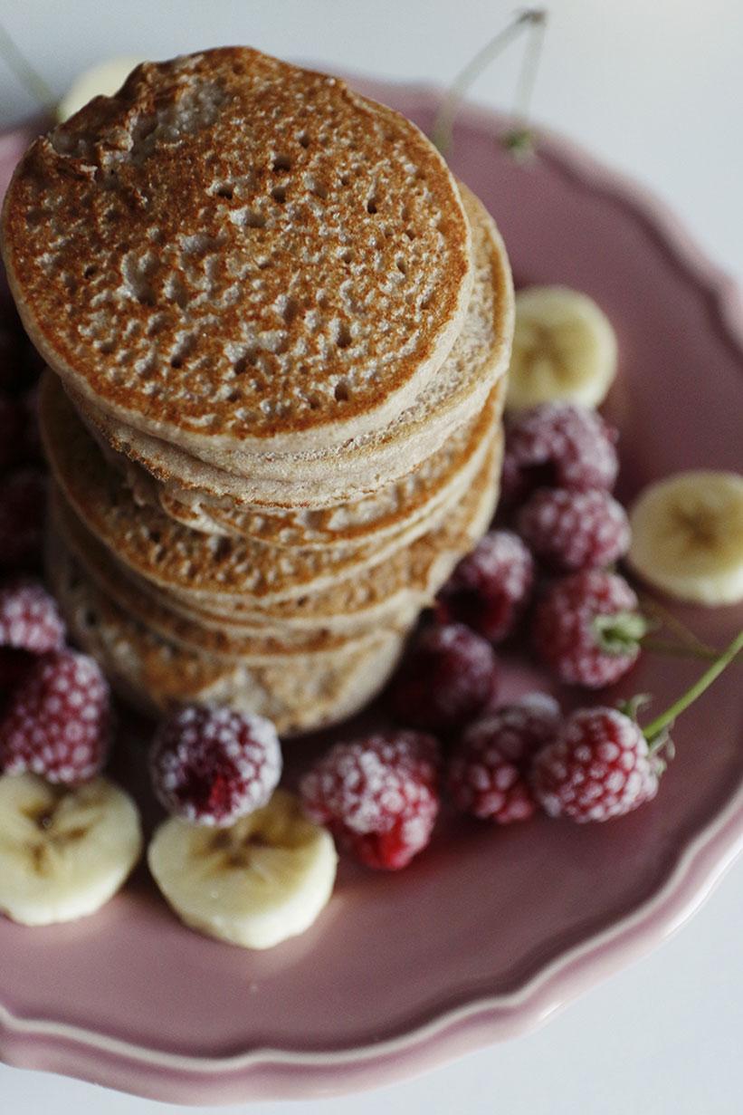 pancakes z kaszy gryczanej