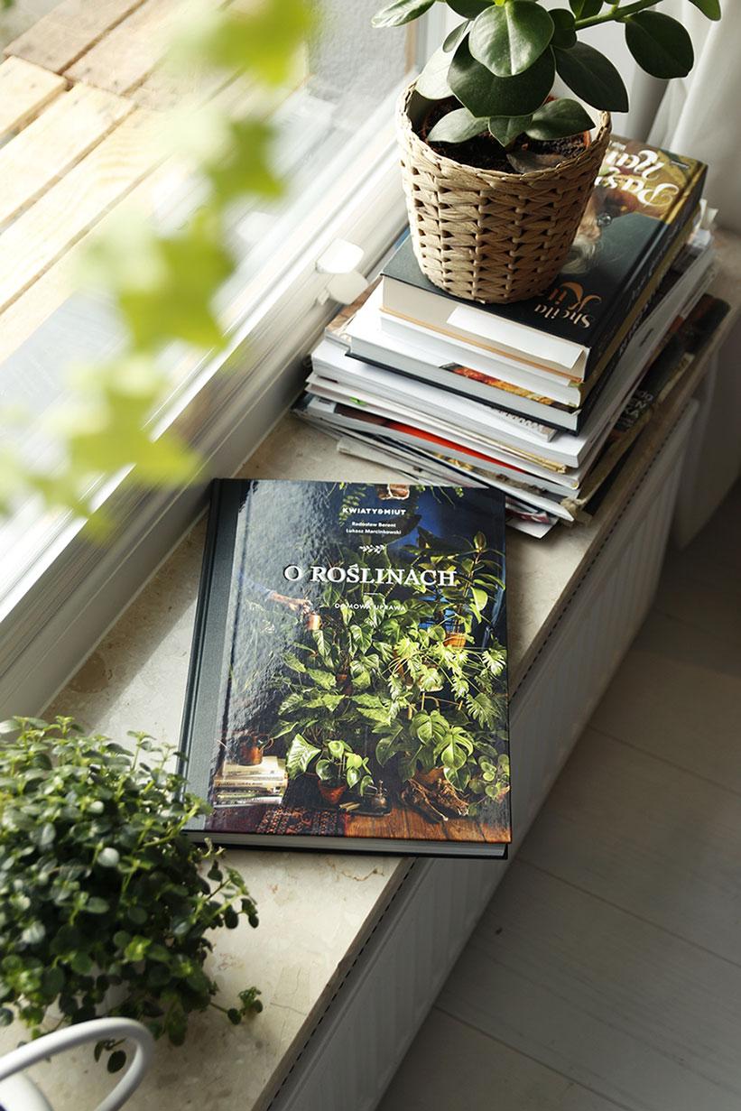 książka o kwiatach