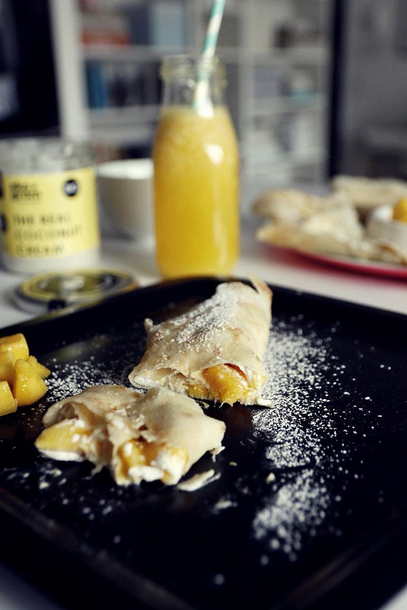 naleśniki ryżowe z mango