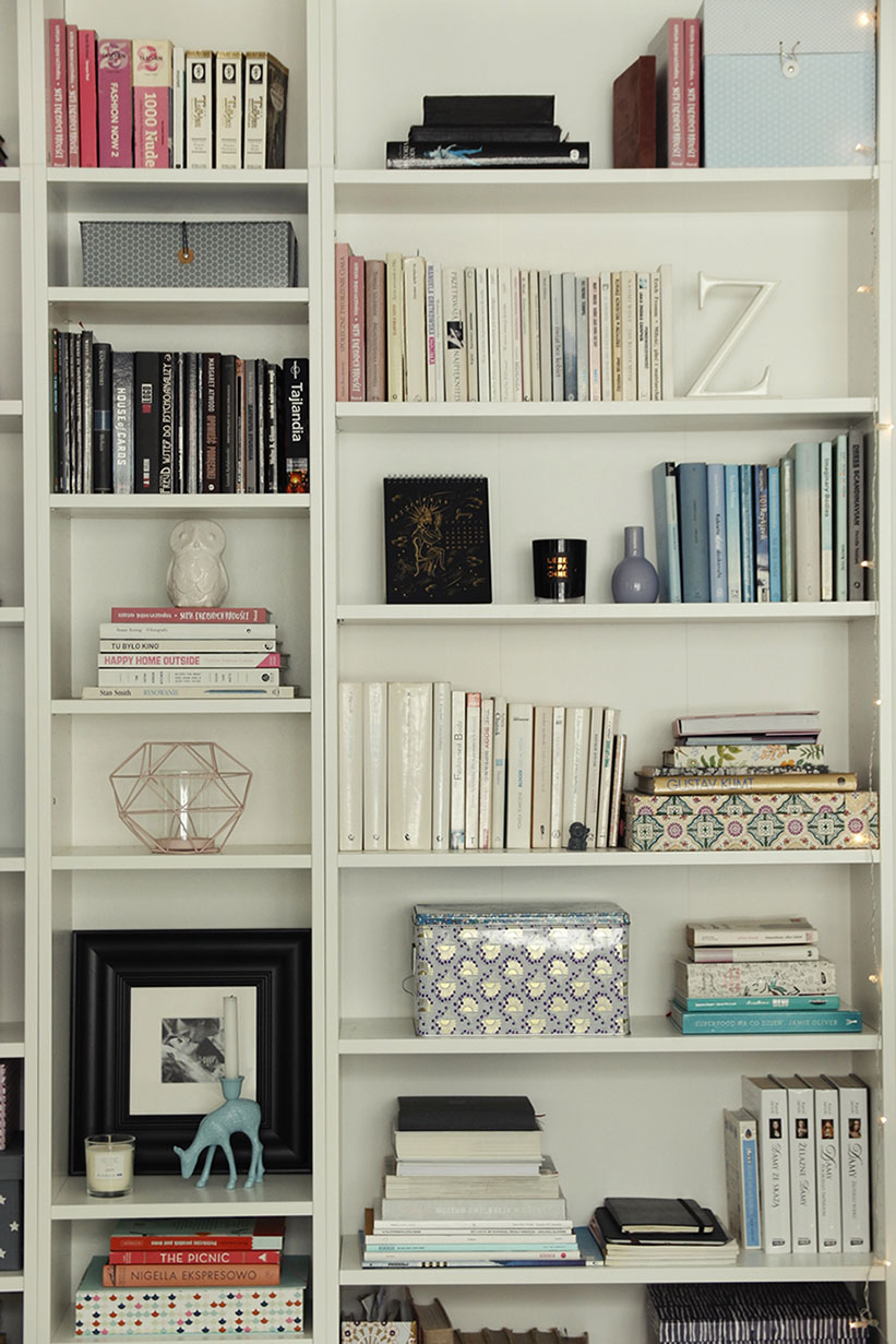 Domowa Biblioteczka Białe Regały Jako Brakujące Ogniwo