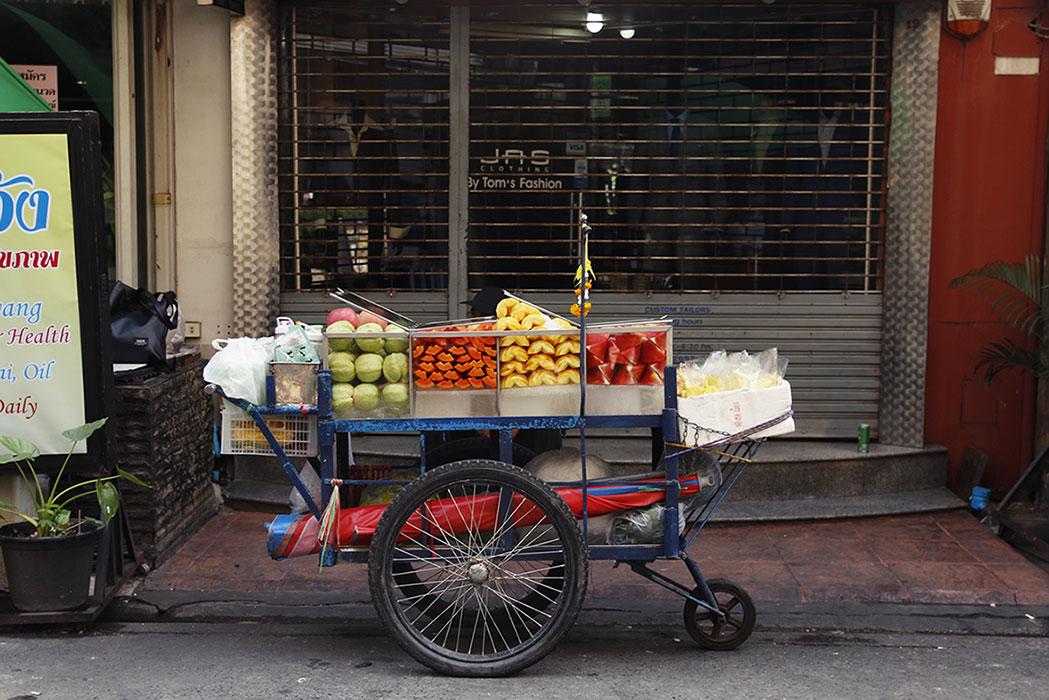 Bangkok jedzenie