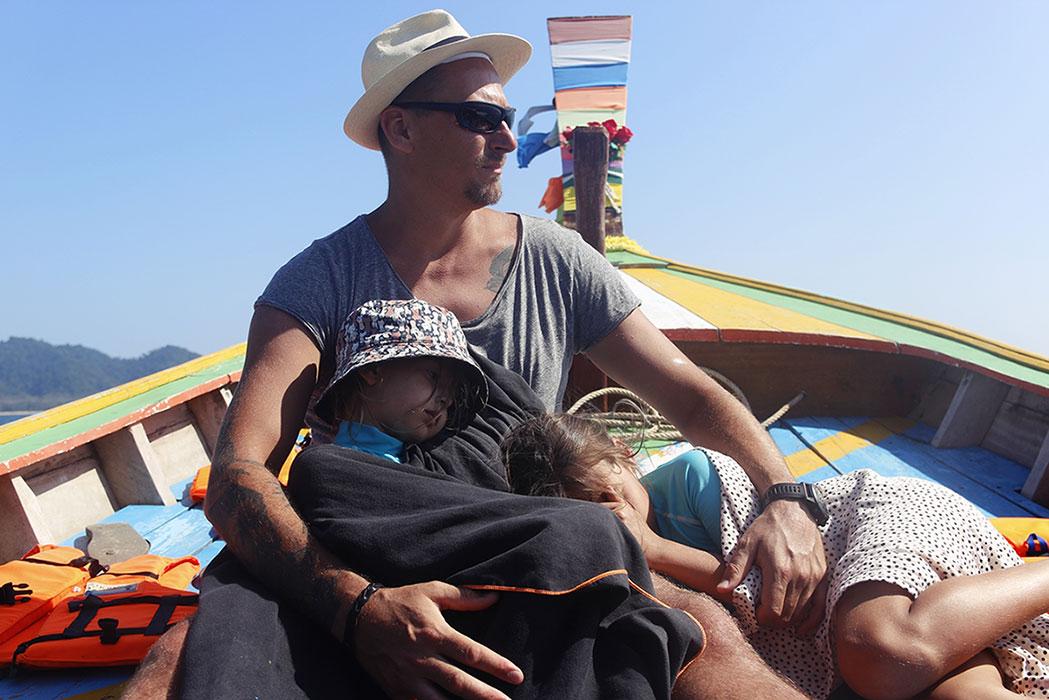 tajlandia long boat