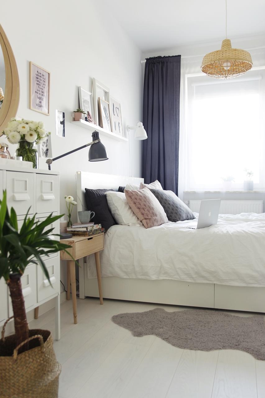 łóżko MALM IKEA