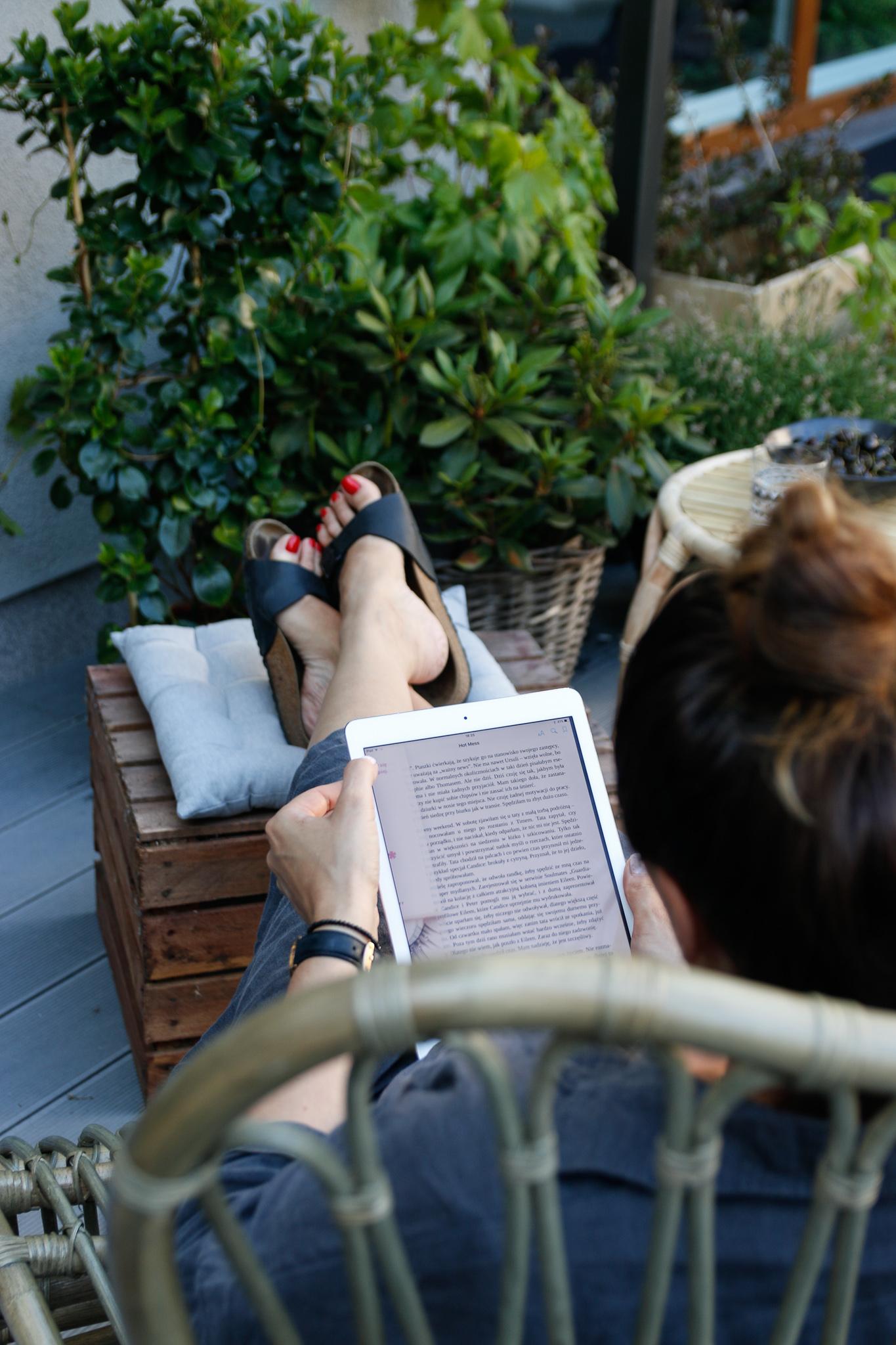 czytanie e-booka