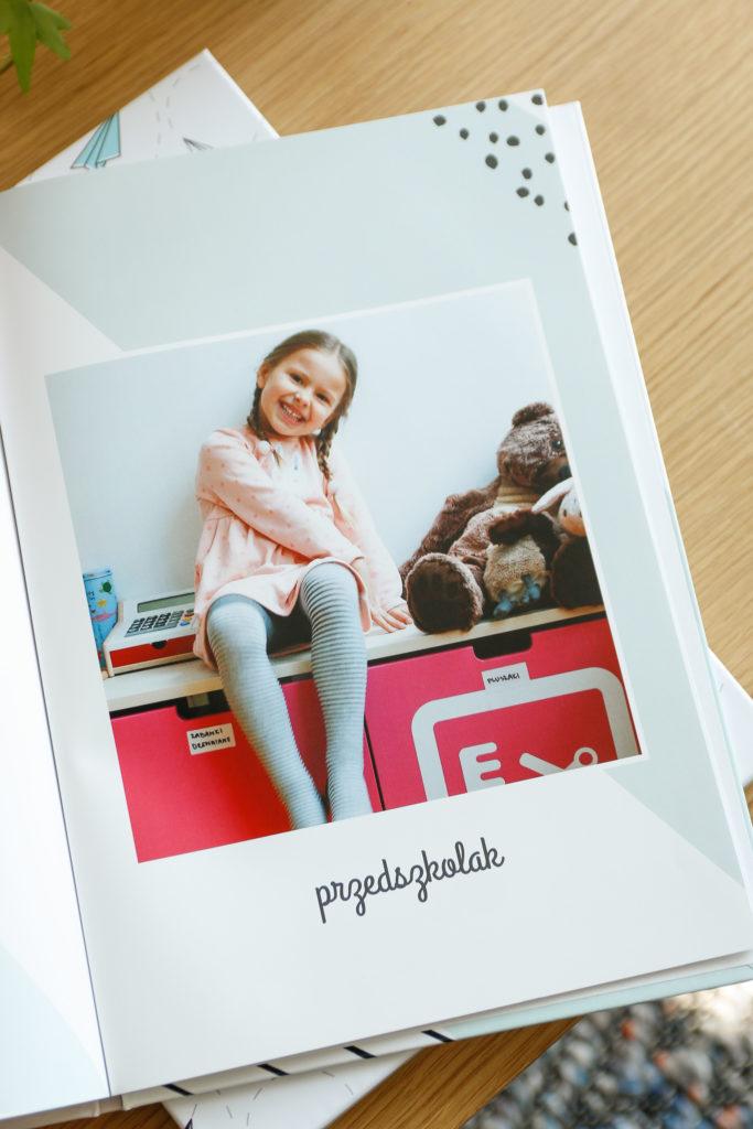 fotoksiążka przedszkolaka