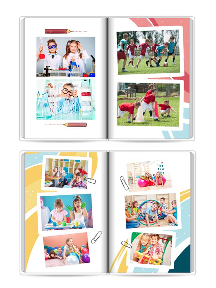 fotoksiążka szkolne wspomnienia