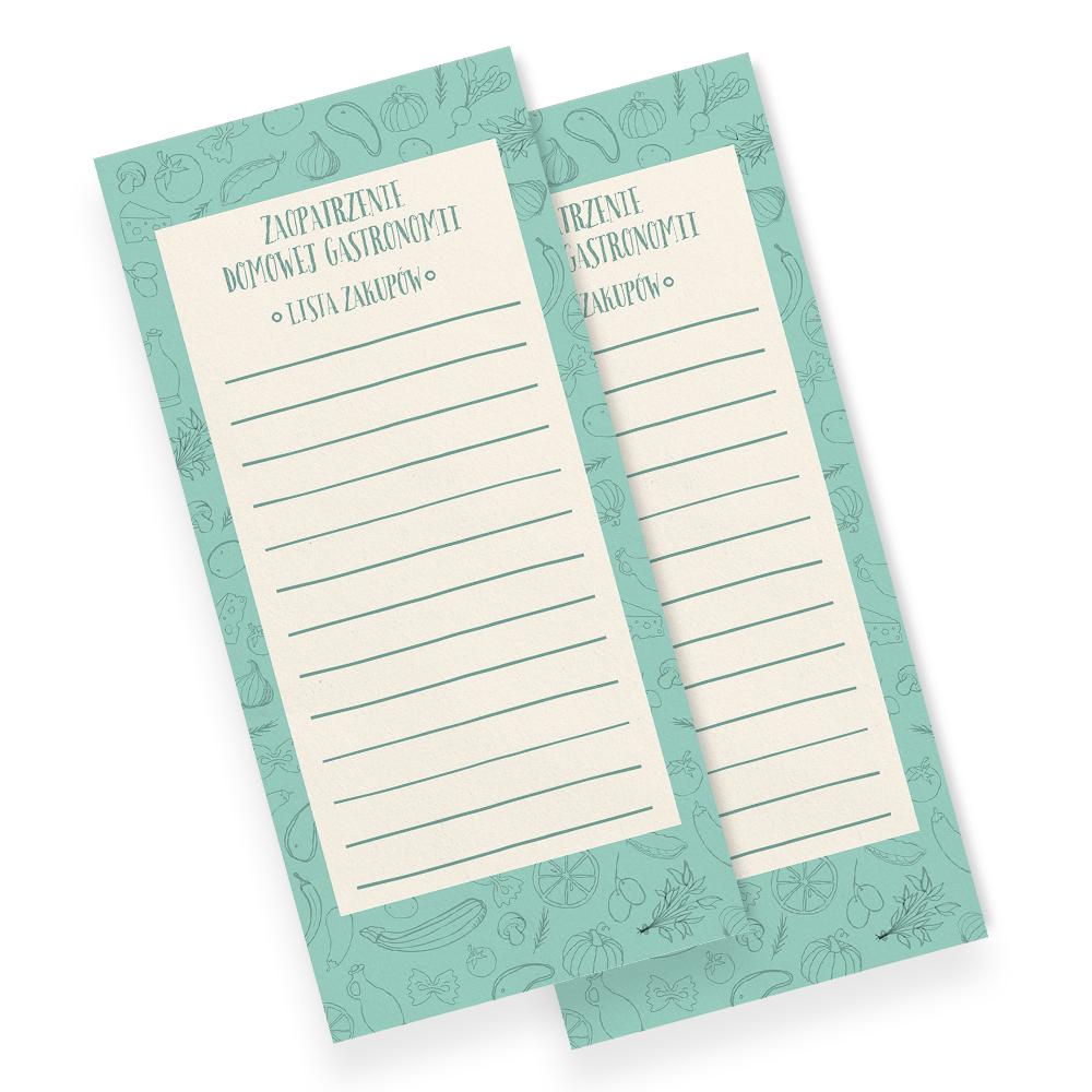 notes lista zakupów