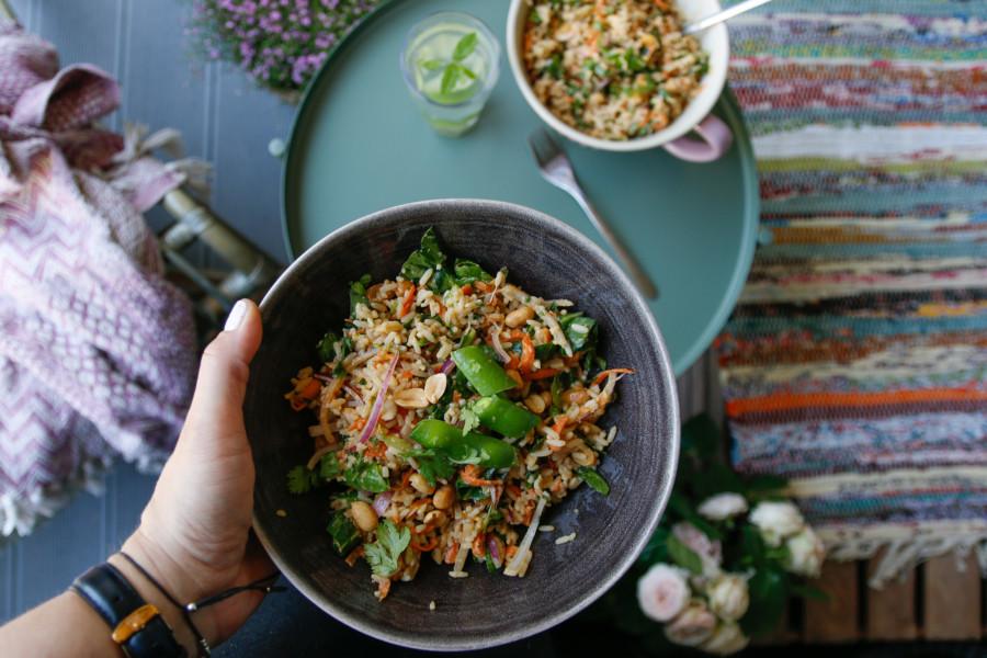 tajska sałatka
