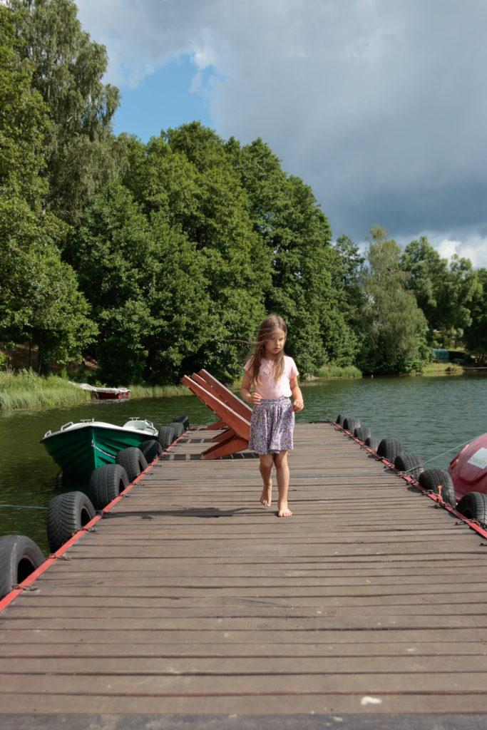 wczasy nad jeziorem