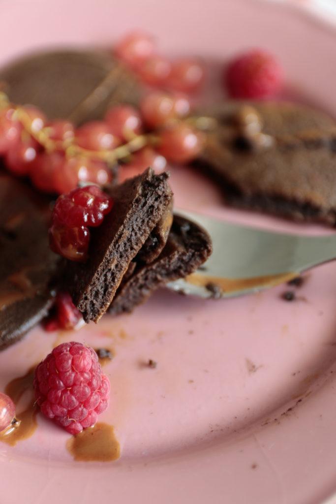 czekoladowe placuszki