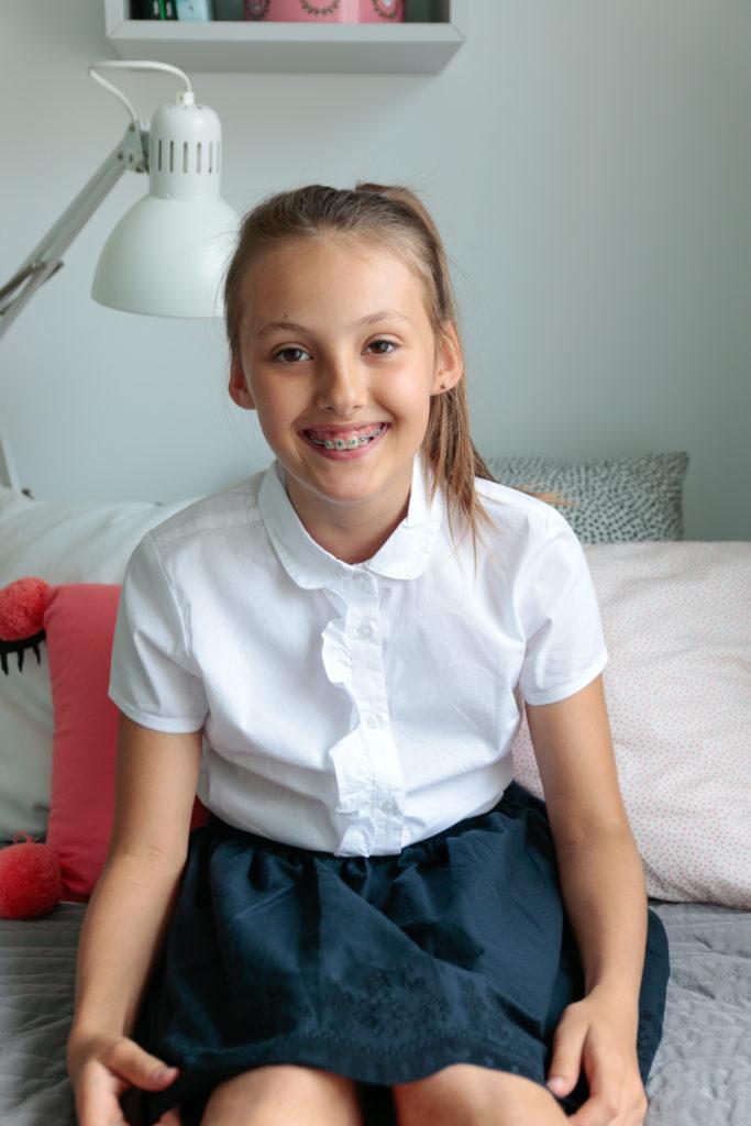 ubrania do szkoły
