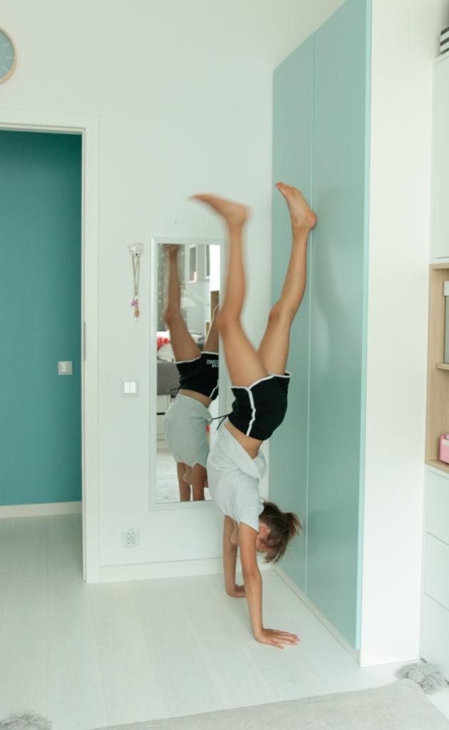 strój gimnastyczny