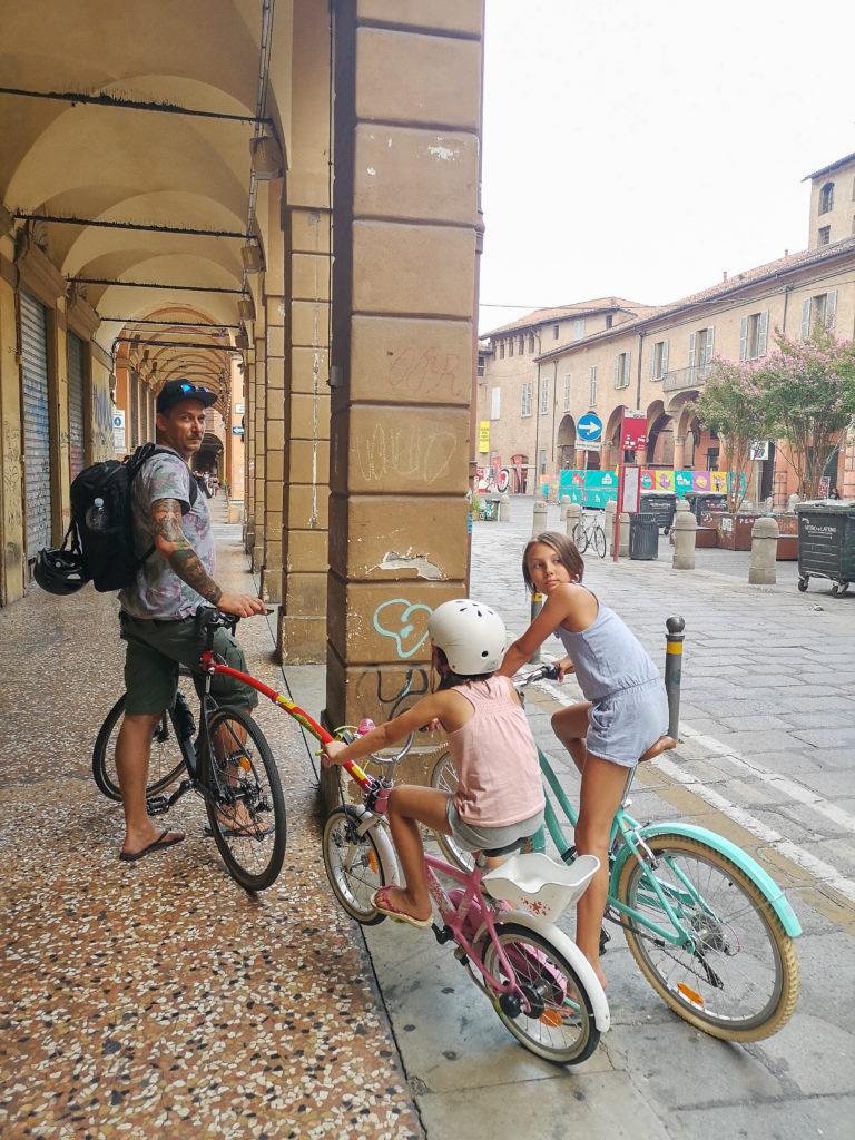 z rowerami do Włoch