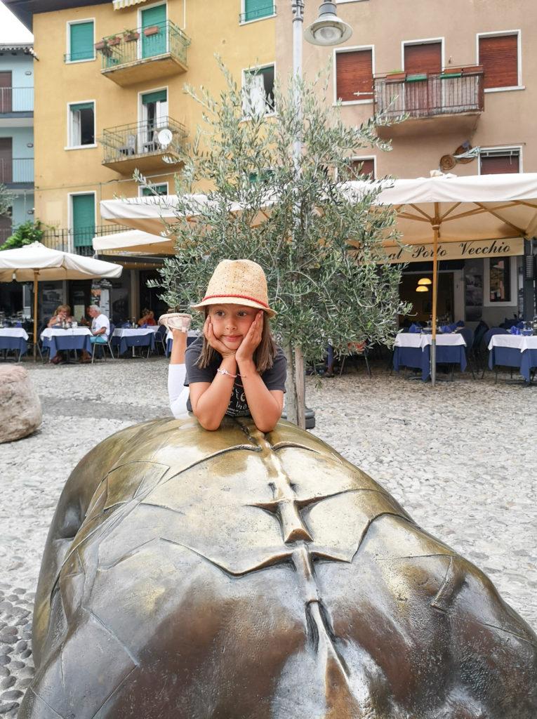 miasteczka nad jeziorem Garda