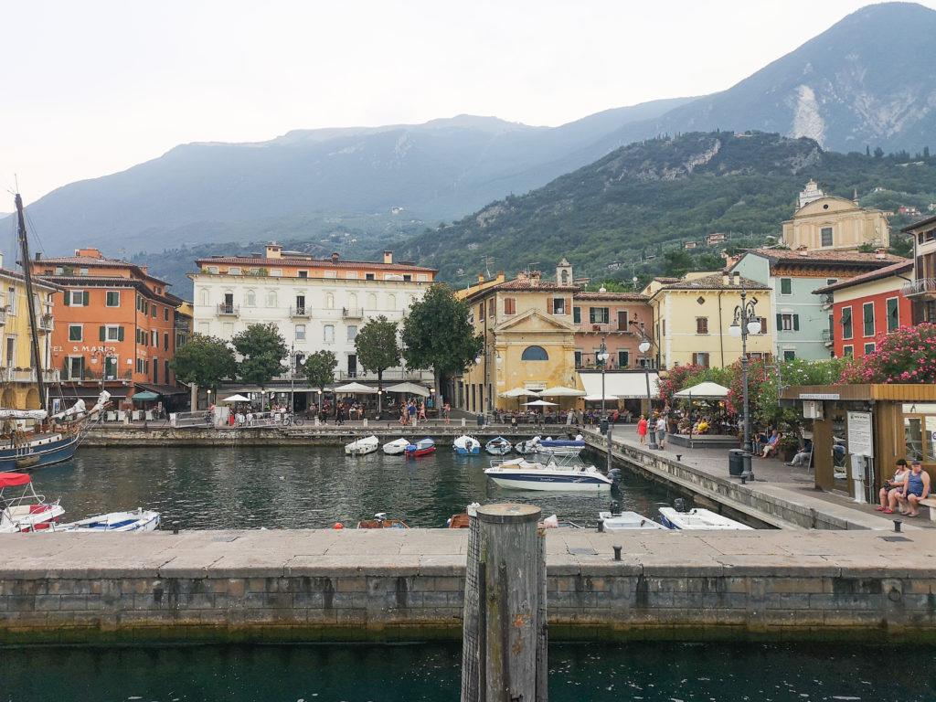 Malcesine jezioro Garda
