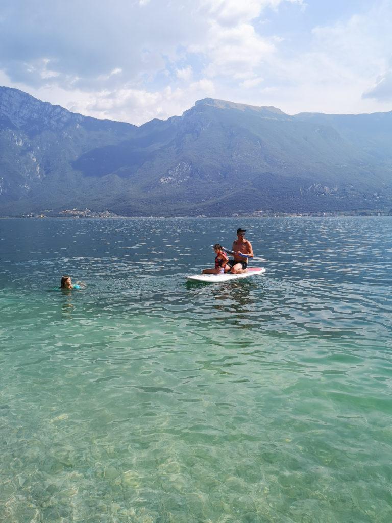jezioro Garda sup