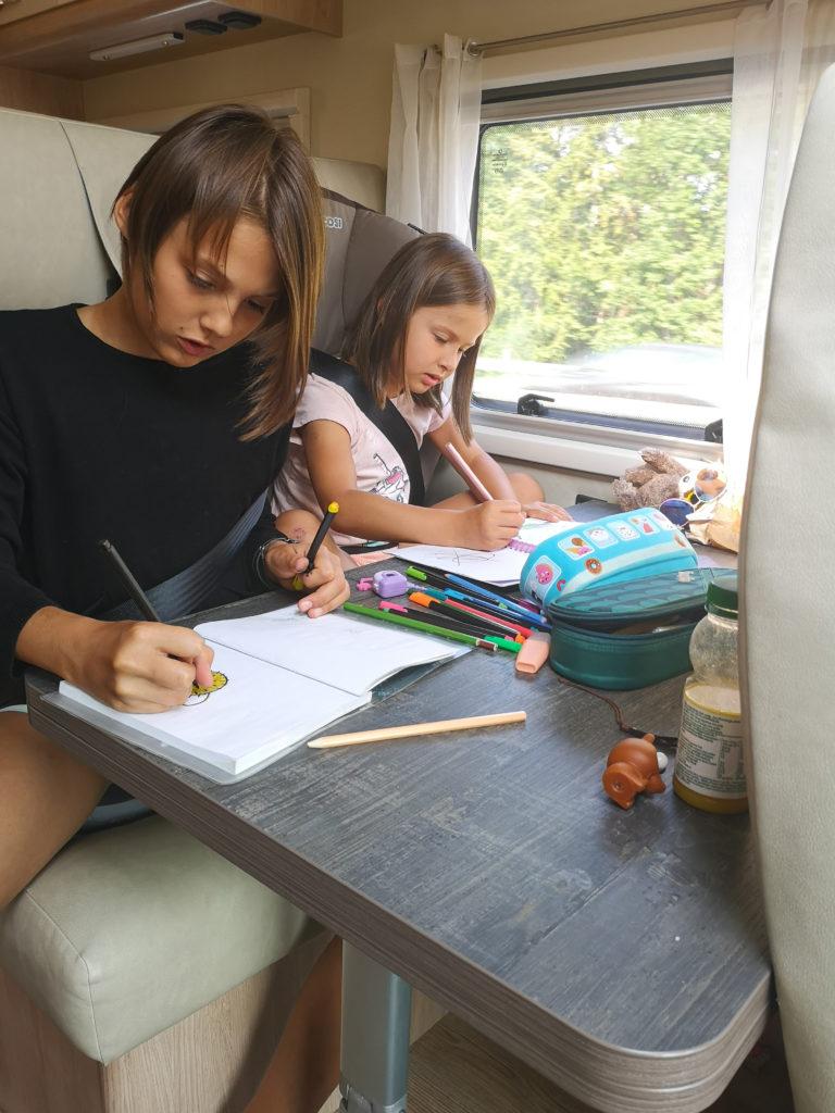 podróżowanie kamperem z dziećmi