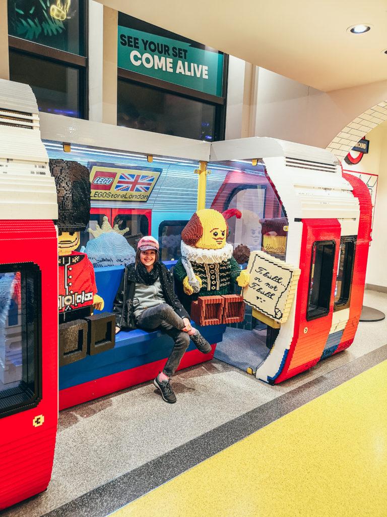Londyn sklep Lego