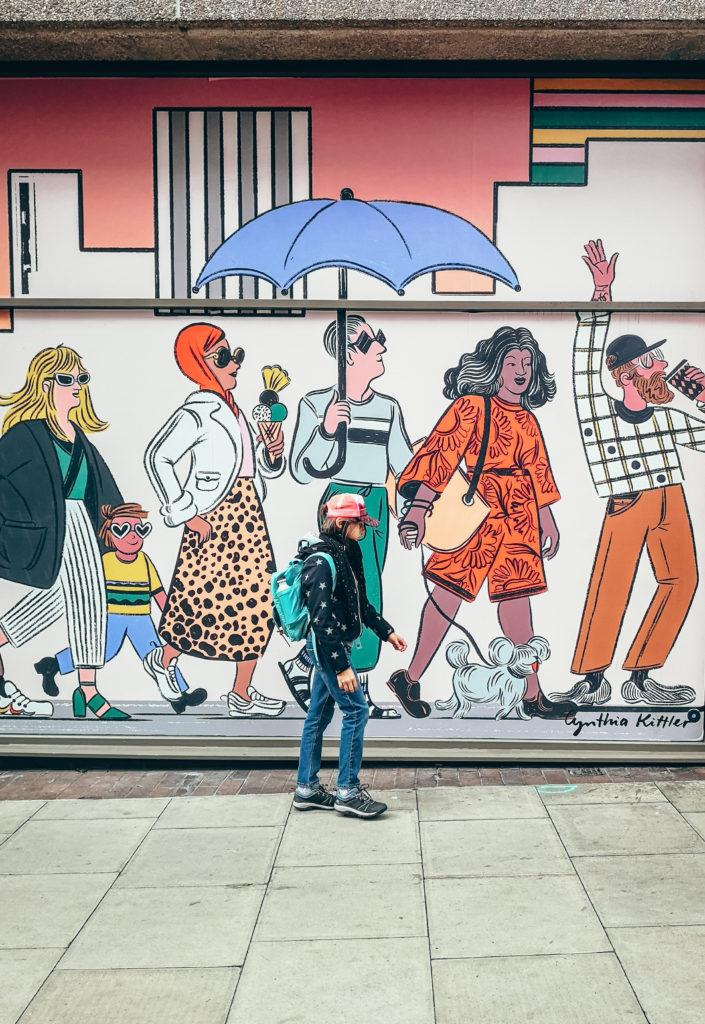 Londyn murale
