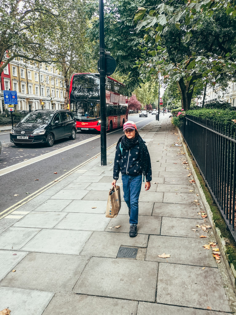 zakupy w Londynie
