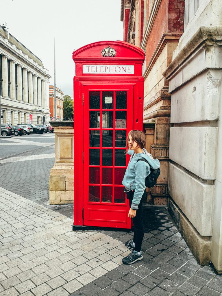 londyn budka telefoniczna