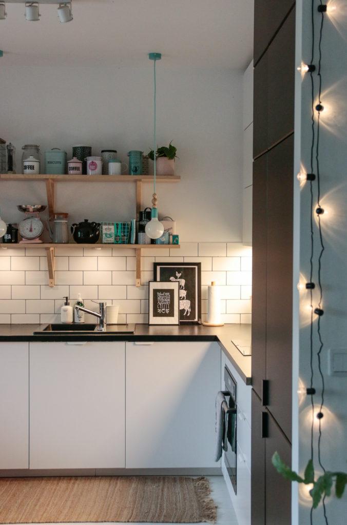 półki w kuchni