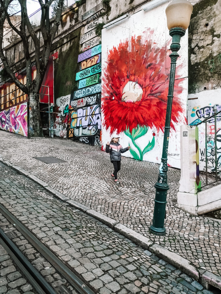 Lizbona murale