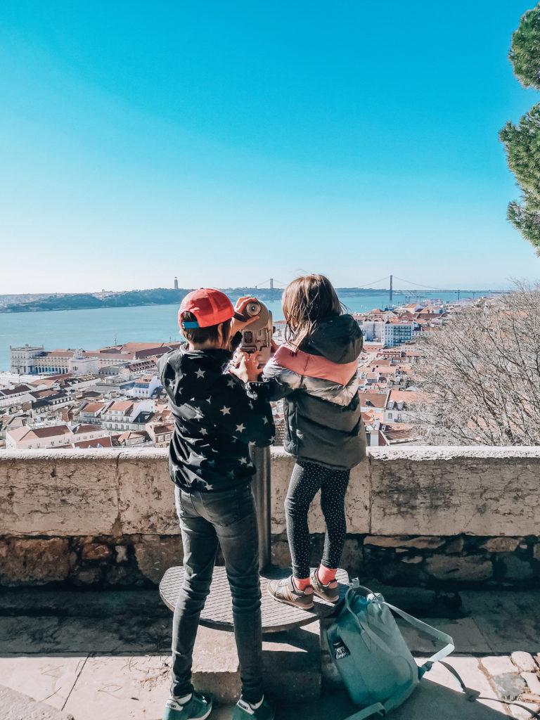 Lizbona zamek św. Jerzego