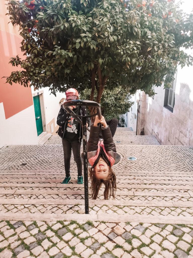 Lizbona schody