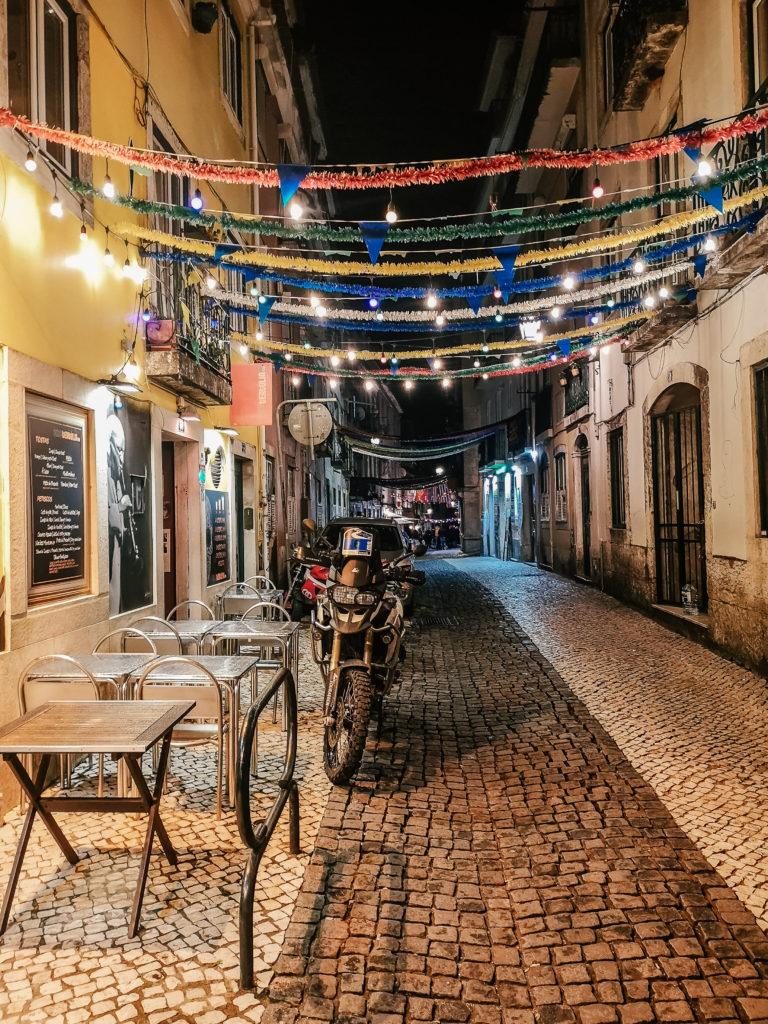 Lizbona Bairro Alto