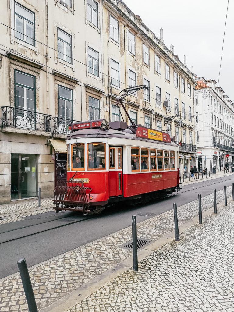 lizbońskie tramwaje