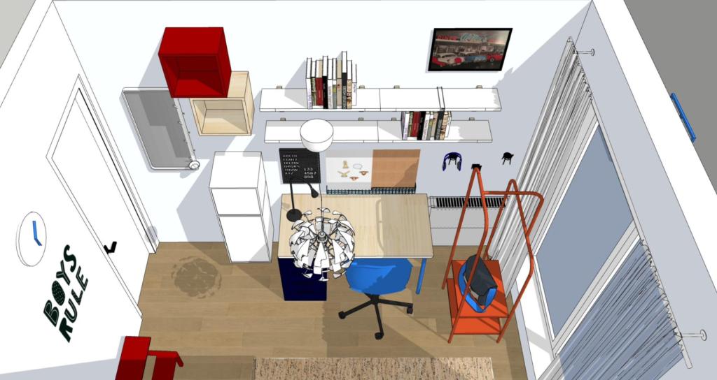 projektowanie wnętrz Ikea