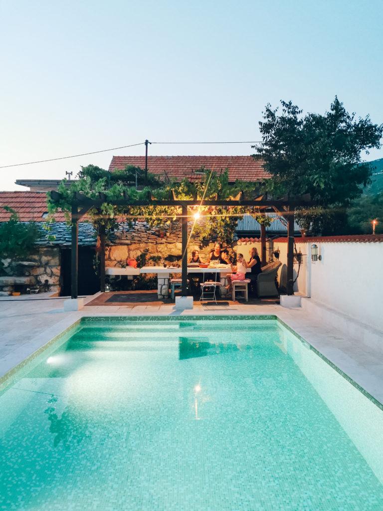 dom z basenem wynajem