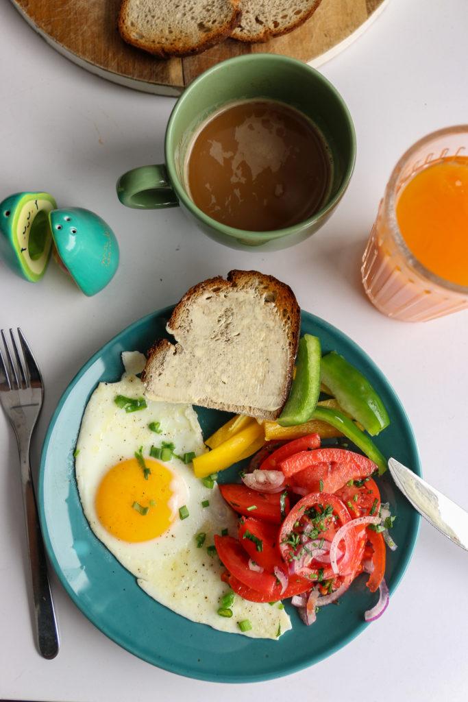 warzywa na śniadanie
