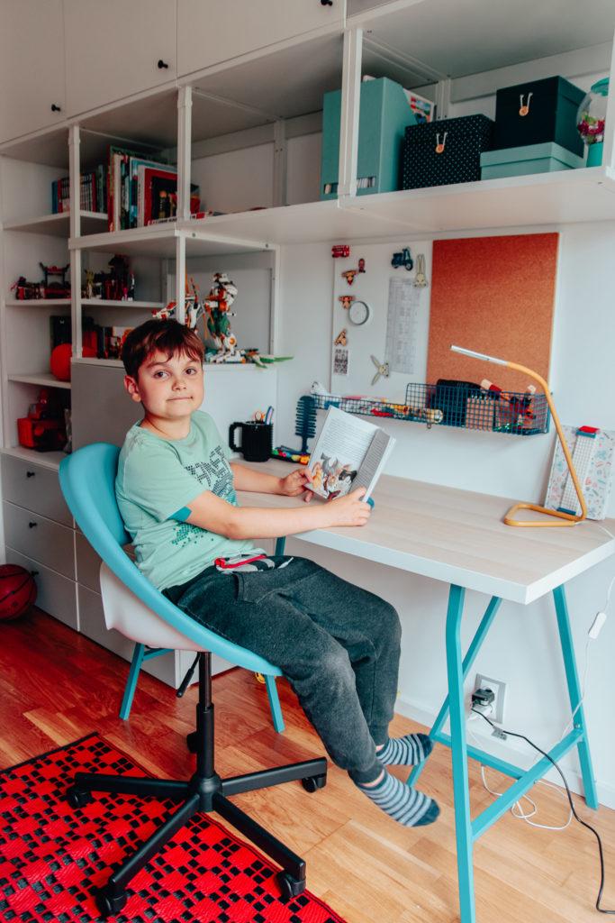 obrotowe krzesło dla dziecka